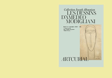Les dessins d'Amedeo Modigliani de la Collection Joseph Altounian