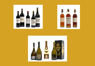 A selection of Fine Wines & Spirits for the holidays