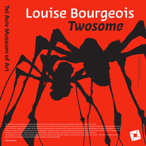 Affiche expo Louise Bourgeois