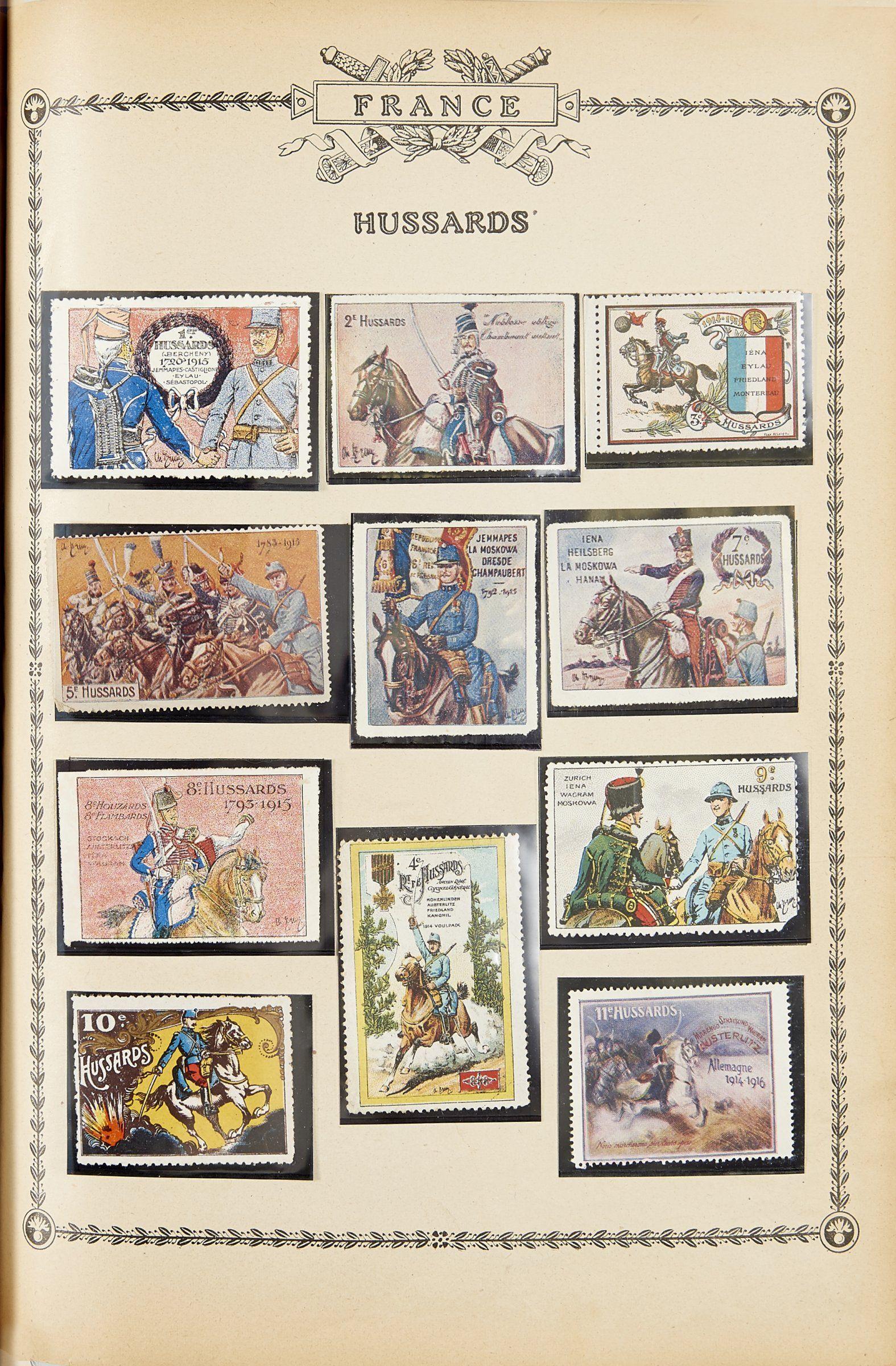 Philatélie, vignettes sur les hussards 3125_10588568_1