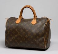 dfa7aa41d5 <strong>Louis VUITTON, Speedy 30 en toile Monogram, anses en cuir naturel