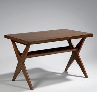 "Pierre JEANNERET (1896-1967) Table de travail individuelle dite ""Reading Table"", c. 1960"