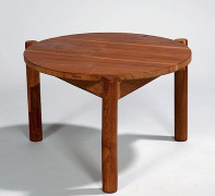 Pierre JEANNERET (1896-1967) Table basse, c. 1960