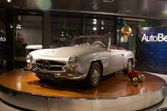 1957 MERCEDES BENZ 190 SL HARD TOP