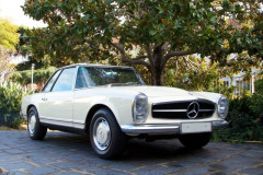 1968 MERCEDES BENZ 280 SL PAGODE AVEC HARD TOP