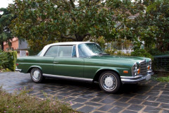 1971 MERCEDES BENZ 280 SE COUPE 3,5L