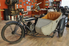 1924 DOUGLAS 600cc SIDE-CAR - NO RESERVE