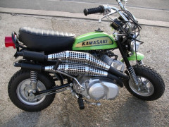 1971 KAWASAKI MT3 MODIFIEE 250
