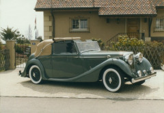 ¤ 1939 JAGUAR SS DROP HEAD COUPE CABRIOLET 2,5L