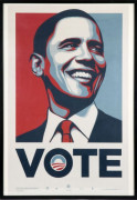 Shepard FAIREY (OBEY GIANT) (né en 1970) Vote, 2008