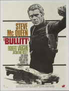 Affiche Bullit - Steve Mc Queen