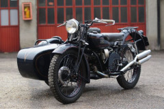 1945 MOTO GUZZI ALCE 500 SIDE CAR - no reserve