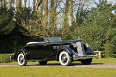 1936 PACKARD SUPER EIGHT CABRIOLET  Collection André Lecoq - no reserve