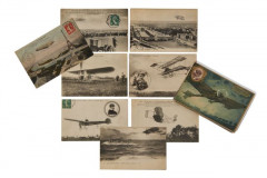 ENSEMBLE DE 39 CARTES POSTALES