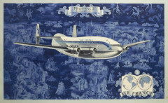 Lucien BOUCHER (1889-1971) Air France- Provence Bréguet 763