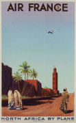 Maurice GUIRAUD-RIVIERE (1881-1947) Air France - North Africa by plane