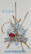 Georges MATHIEU 1921-2012 Air France - France