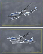 CONSTELLATION ET DOUGLAS DC4