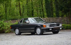 1987 Mercedes-Benz 500 SL 2+2 avec hard-top