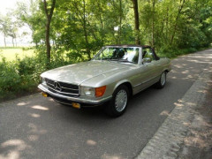 1986 Mercedes-Benz 500 SL 2+2 avec hard top