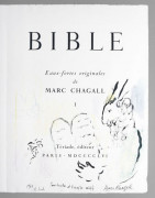 Marc CHAGALL 1887 - 1985 BIBLE