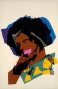 Andy WARHOL 1928 - 1987 LADIES AND GENTLEMAN - 1975 Sérigraphie en couleurs