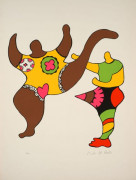Niki de SAINT PHALLE 1930 - 2001 NANA POWER XI - 1970