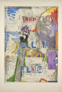 Jasper JOHNS Né en 1930 LAND'S END - 1978