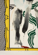 ¤ Roy LICHTENSTEIN 1923 - 1997 AGAINST APARTHEID - 1983