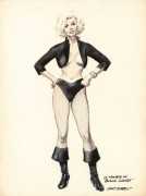 "Gray MORROW 1934-2001 LA MONROE AS ""BLACK CANARY"""