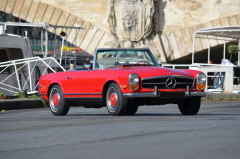 1970 Mercedes-Benz 280 SL avec hard-top