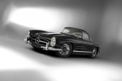 1961 Mercedes-Benz 300 SL Roadster avec Hard Top