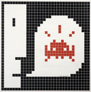 INVADER Né en 1969 ALERT : SYSTEM INFECTED - 2001 Sérigraphie en couleurs