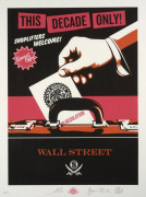 Shepard FAIREY (Alias OBEY GIANT) Né en 1970 SHOPLIFTERS WELCOME (PINK) - 2012 Sérigraphie en couleurs