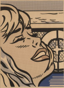 Roy LICHTENSTEIN 1923 - 1997 SHIPBOARD GIRL - 1965