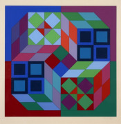 Victor VASARELY (1906 - 1997) Composition