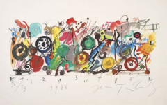 Jean TINGUELY (1925 - 1991) Composition - 1986