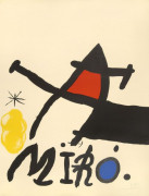 Joan MIRO (1893 - 1983) Exposition Galerie Maeght - 1971