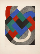 Sonia DELAUNAY (1885 -1979) Composition - 1968