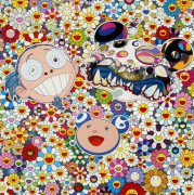 Takashi MURAKAMI (né en 1962) Me and double-DOB - 2009