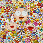 Takashi MURAKAMI (né en 1962) Me and Kaikai and Kiki - 2009