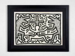 Keith HARING (1958 - 1990) Untitled 2 - 1982