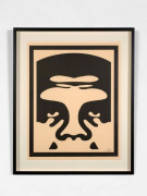 Shepard FAIREY (Alias OBEY GIANT) Né en 1970 Obey offset poster set cream - 2013