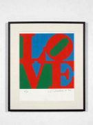 Robert INDIANA (Né en 1928) Love - 1996