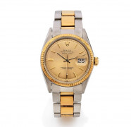 ROLEX  Datejust Oyster Perpetual, ref. 1600, n° 2572546, vers 1970