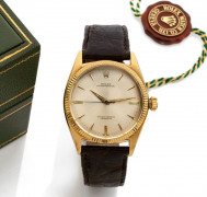ROLEX  Oyster pertpetual, ref. 6599, n° 435179, vers 1950