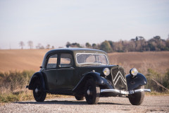 1936 Citroën Traction 7C berline  No reserve
