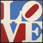 Robert INDIANA Né en 1928 FOUR PANELS LOVE - 1972