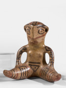 STATUETTE ANTHROPOMORPHE, CULTURE NICOYA, COSTA RICA, 500-800