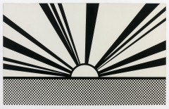 Roy LICHTENSTEIN (1923 - 1997) Landscape 4 (issue de Ten Landscapes) - 1967